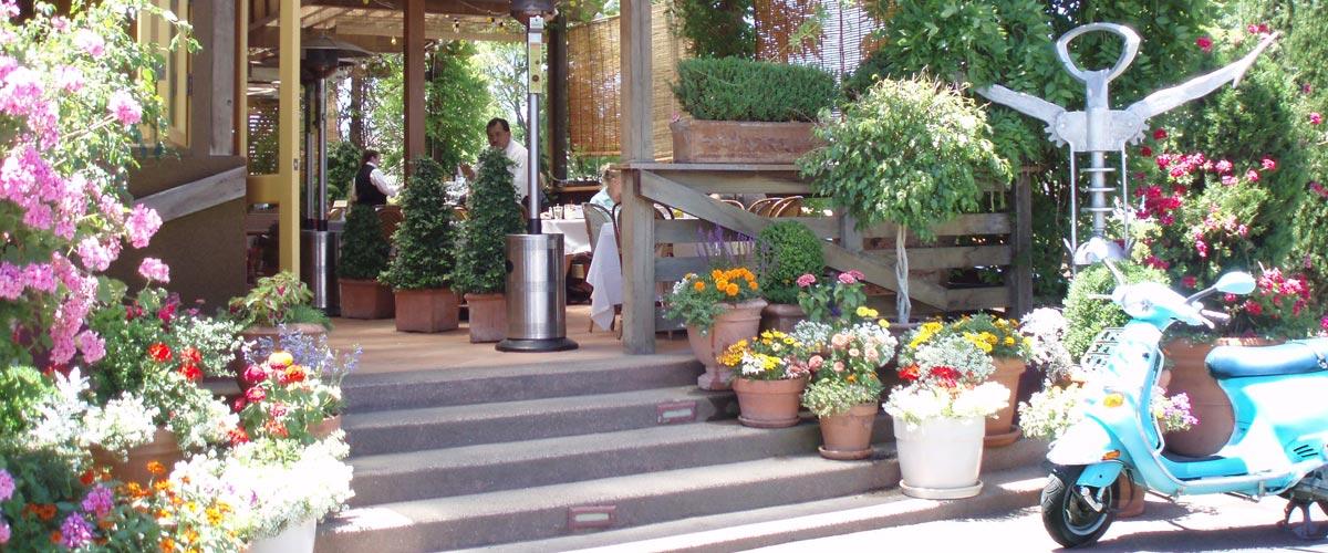 Don Gio's entrance and Donna's Vespa