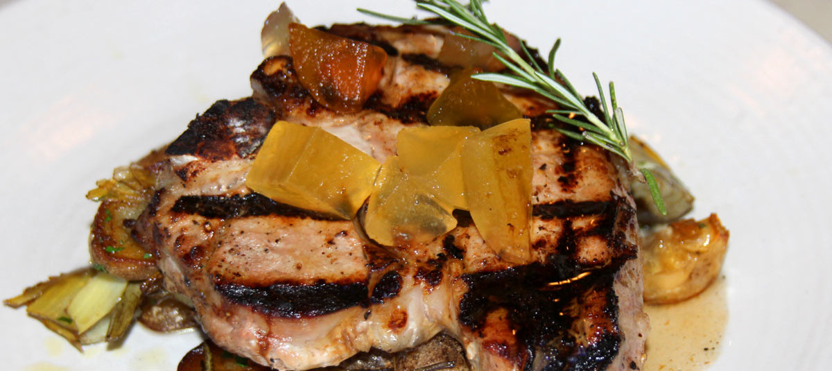 Grilled Berkshire Pork Chop