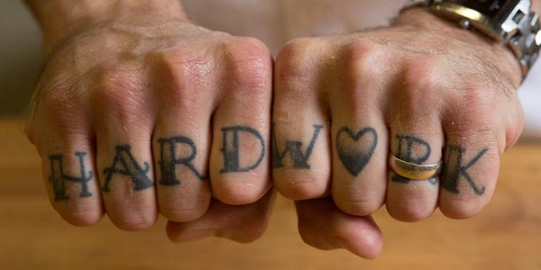 Hard Work tattoo