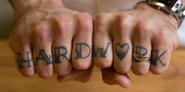Hard Work tattoo